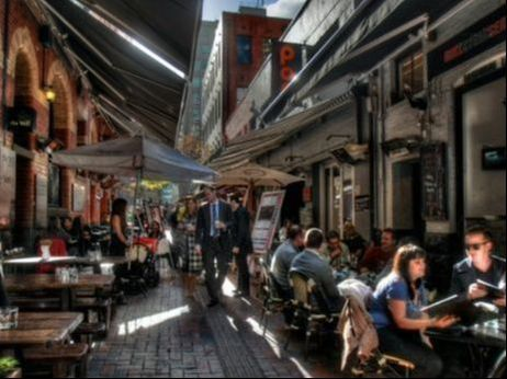 Laneways and Arcades